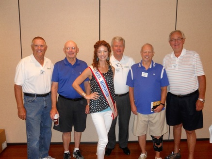 Left to right - Jim Redfield, Darrel Hollinger, Heather Kemper-Hussey, Steve Denney, Bill Kral, and Ray Rudy